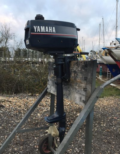 Yamaha 2hp 2-stroke light weight