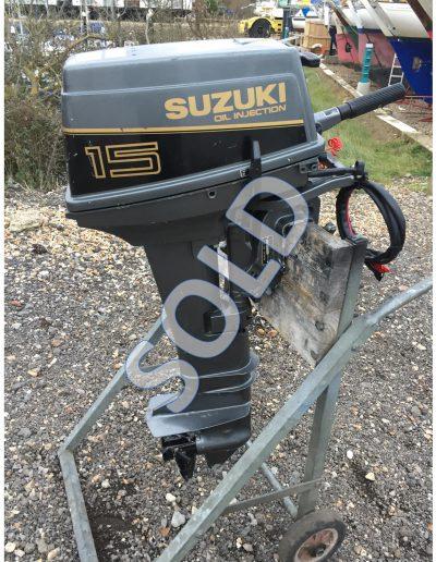 Suzuki 15 2-stroke Elec start