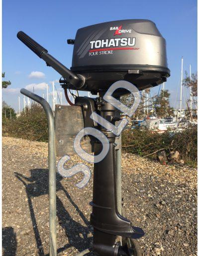 Tohatsu 6hp  4-stroke sail drive
