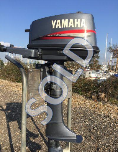 Yamaha 5hp short shaft 2-stroke