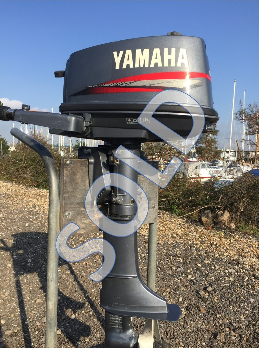 Outboard sales at our shop in Emsworth Yacht Harbour