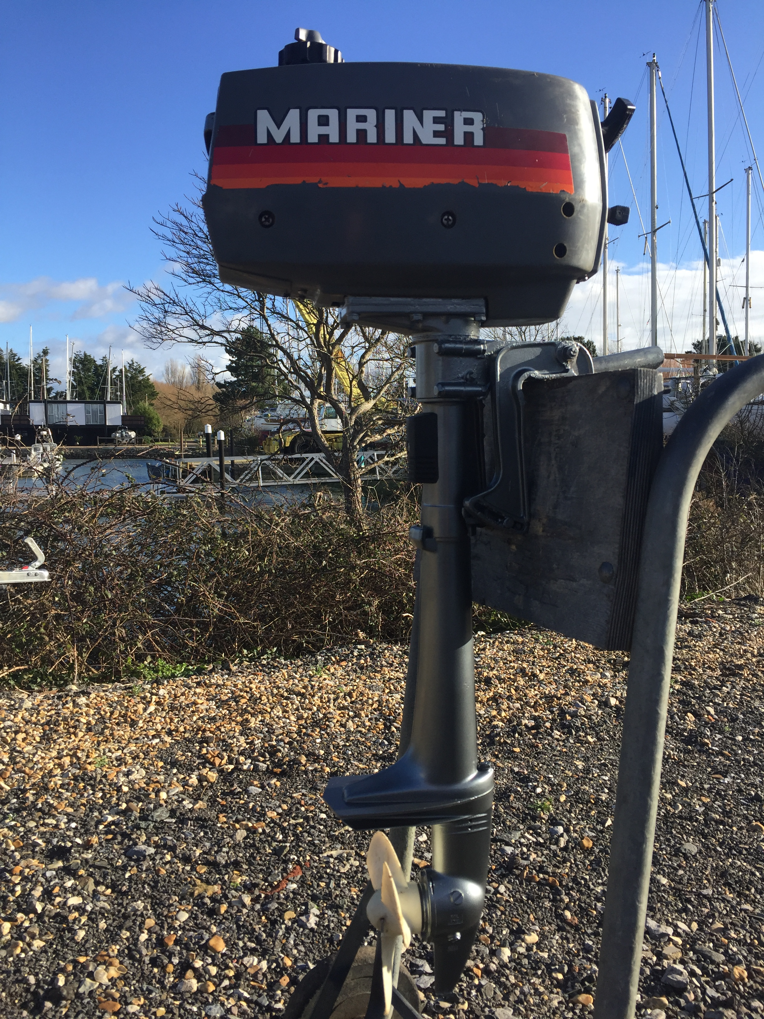 Mariner 2hp 2-stroke light weight - Emsworth Outboards