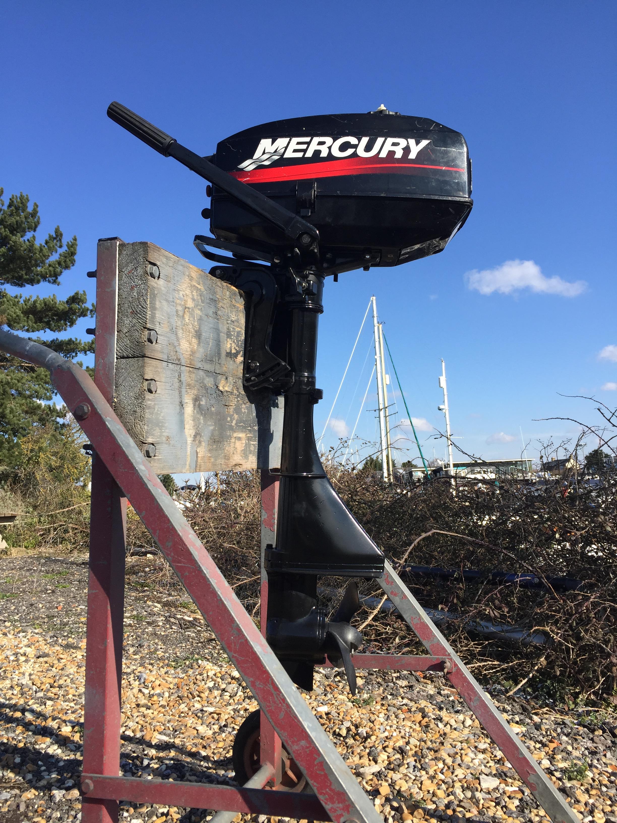 Mercury 2 5 2-stroke standard shaft - Emsworth Outboards