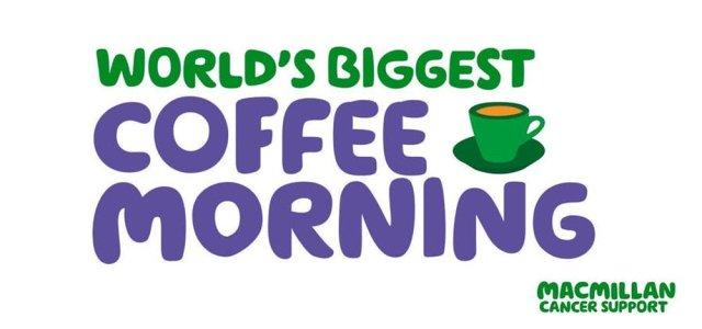 Macmillan Coffee Morning 2019