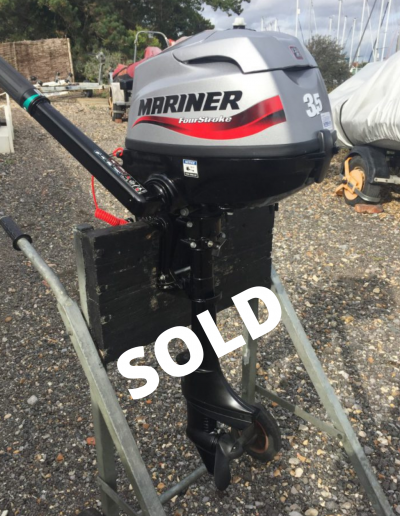 Mariner 3.5hp 4-stroke outboard engine
